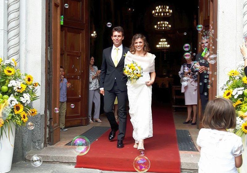 Tanti auguri agli sposini Elena e Ivan!