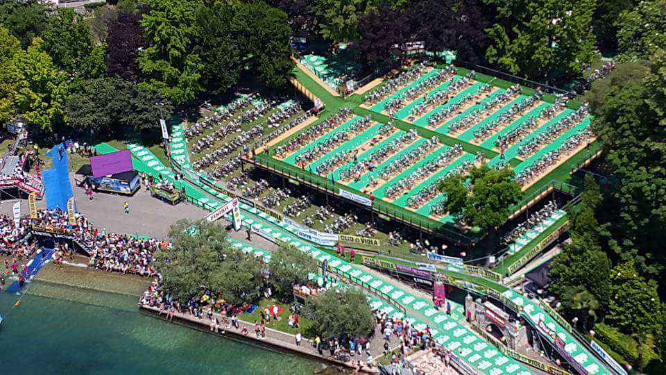 Il video del Triathlon Internazionale di Bardolino 2018