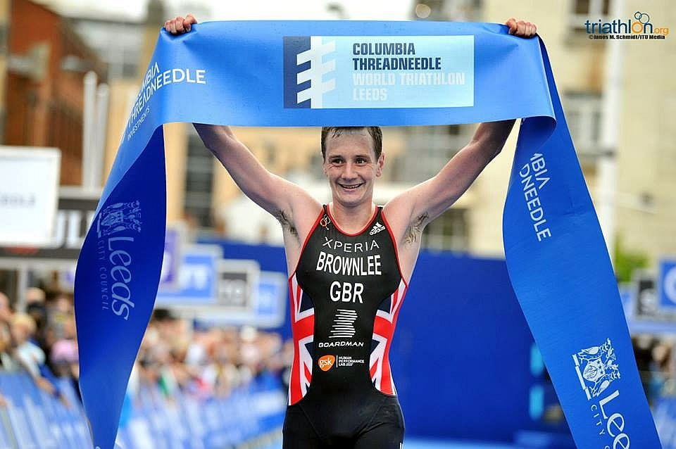 La presentazione dell'ITU World Triathlon Leeds