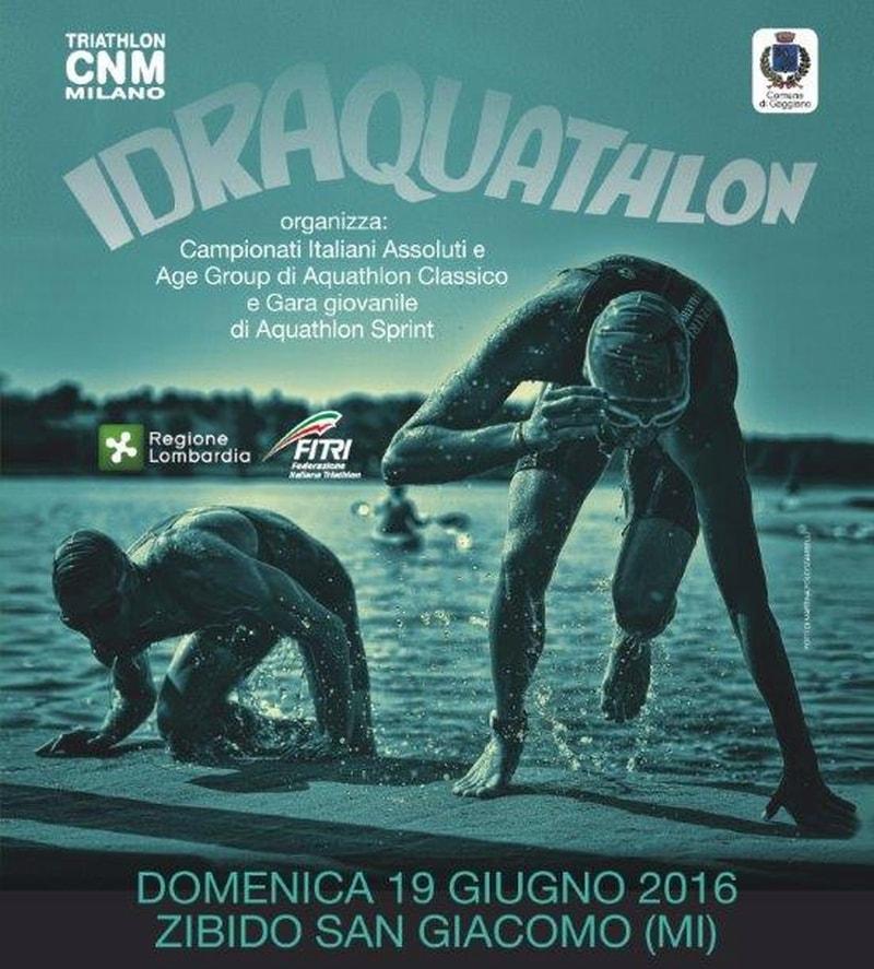 La starting list dei Campionati Italiani di Aquathlon