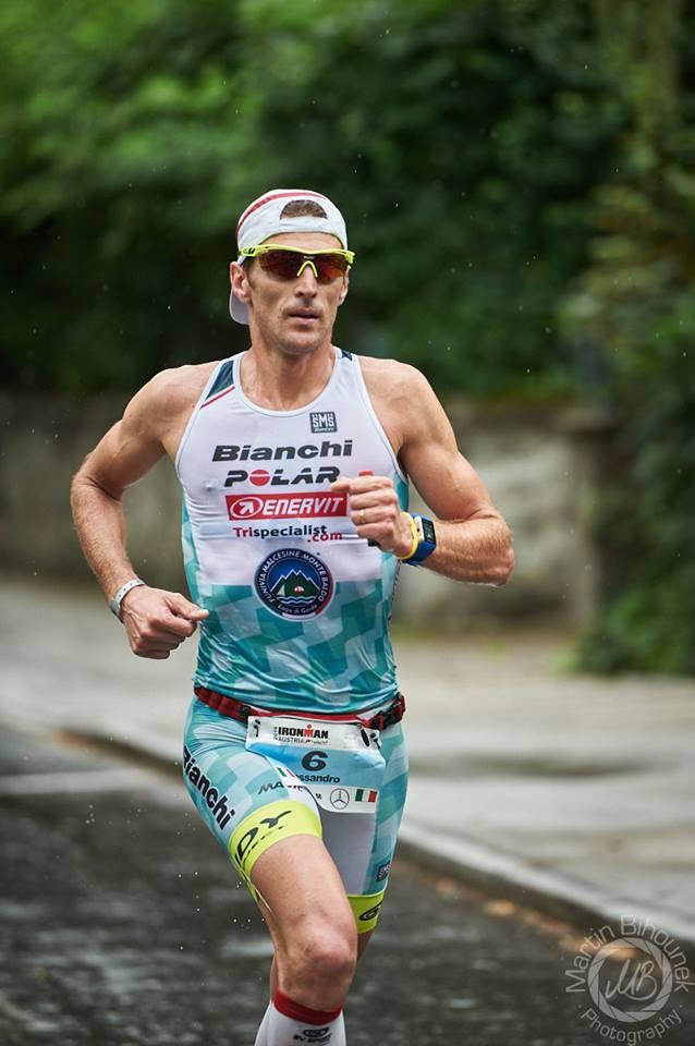 Alessandro Degasperi terzo all'Ironman Austria 2016