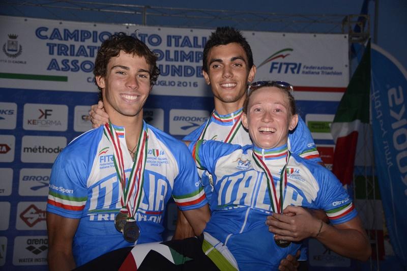 Verena Steinhauser e Luca Facchinetti Campioni d'Italia di Triathlon!