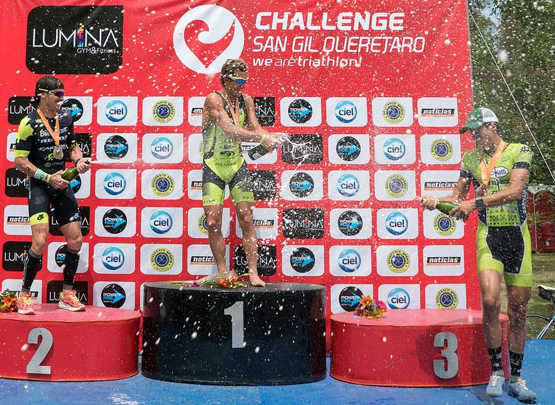 Il PRO italiano Davide Giardini vince il Challenge San Gil triathlon 113 del 3 luglio 2016