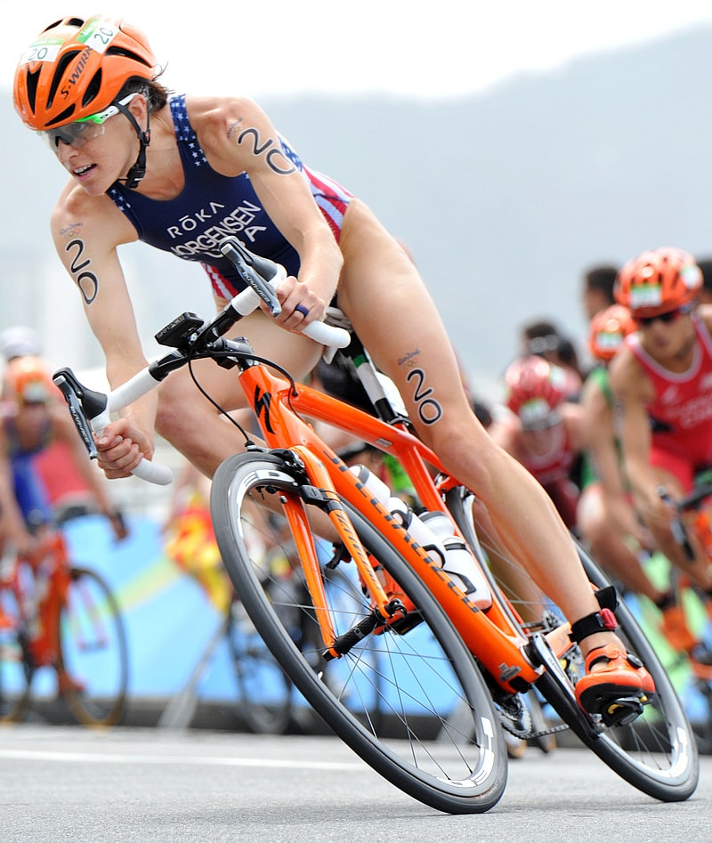 Gwen Jorgensen campionessa olimpica a Rio 2016!