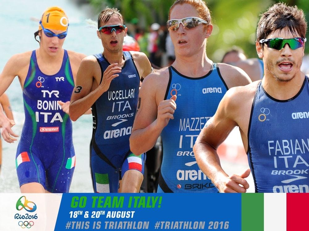 Speciale Olimpiadi Rio 2016 Triathlon 18 e 20 agosto!
