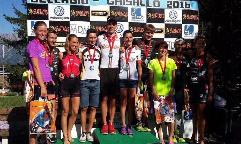 Risultati triathlon 6 e 7 agosto 2016