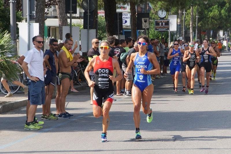 La campionessa slovena Mateja Simic vince il Grand Prix Triathlon Cesenatico 2016