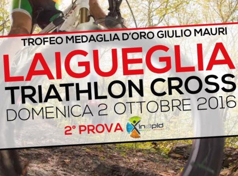 Il 2 ottobre il 1° Laigueglia Triathlon Cross!