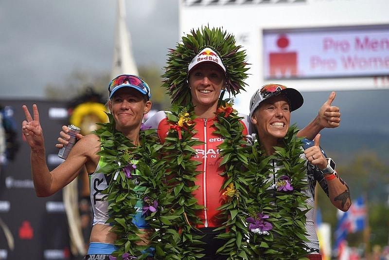 All'Ironman Hawaii 2016 trionfa Daniela Ryf davanti a Mirinda Carfrae ed Heather Jackson (Foto: Ironman.com)