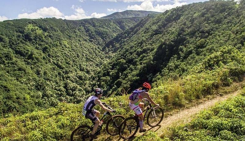 Il tracciato bike dell'XTERRA Maui World Championship