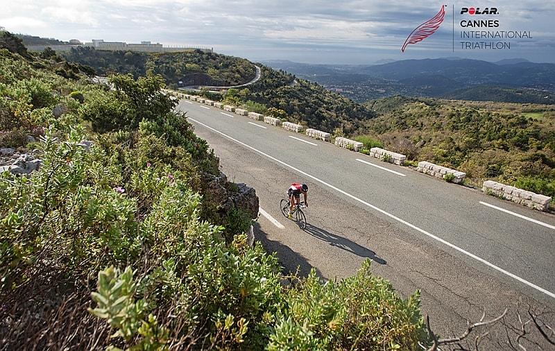 Il nuovo percorso bike del Polar Cannes Triathlon