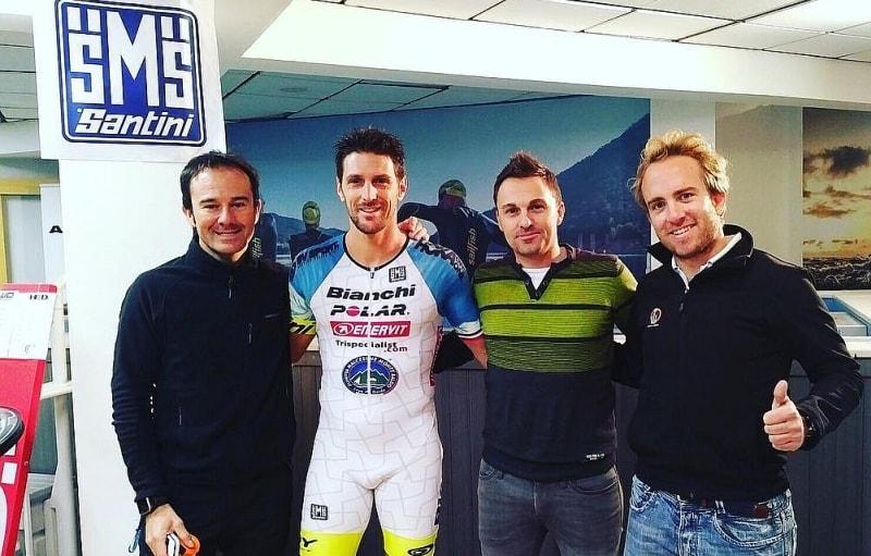 Alessandro Degasperi e il Triathlon Indoor