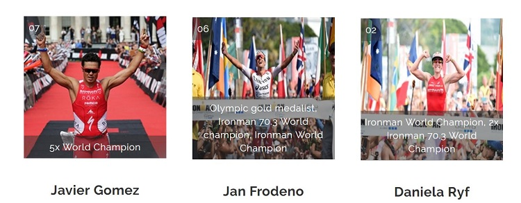 Javier Gomez, Jan Frodeno e Daniela Ryf in gara insieme!