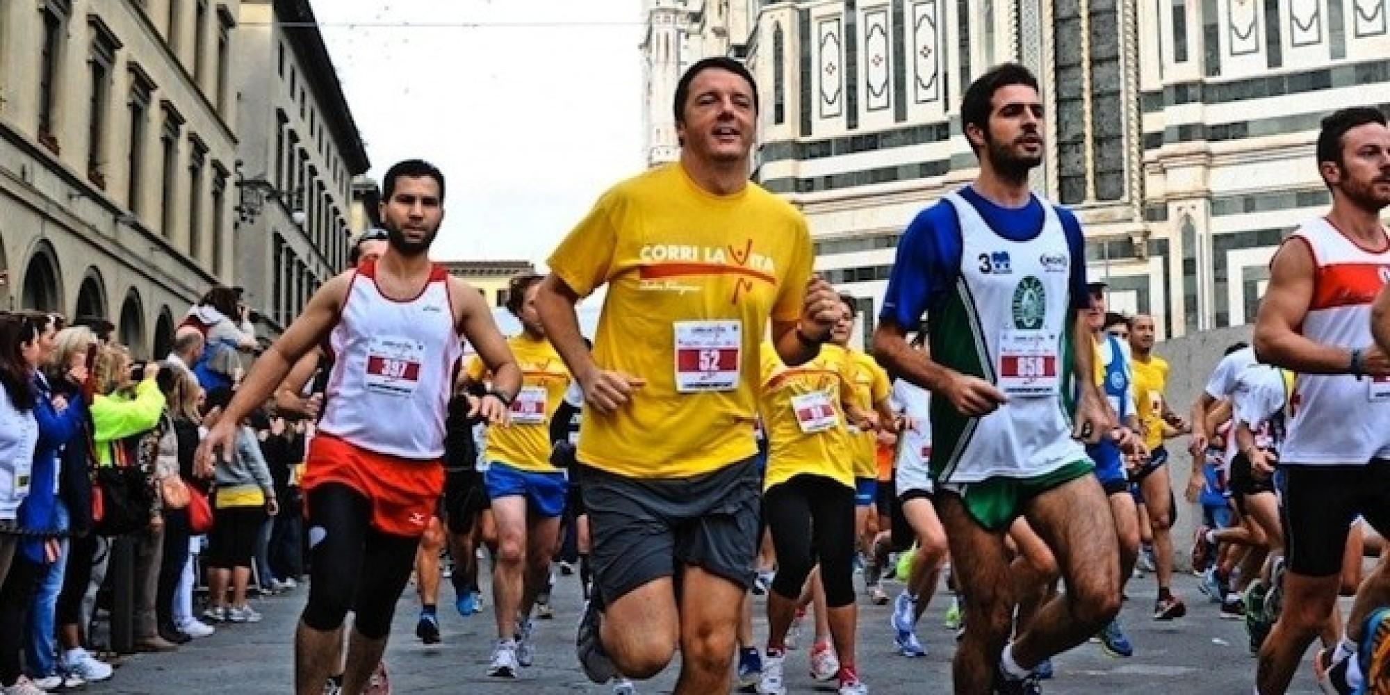 Matteo Renzi si allena per il triathlon!