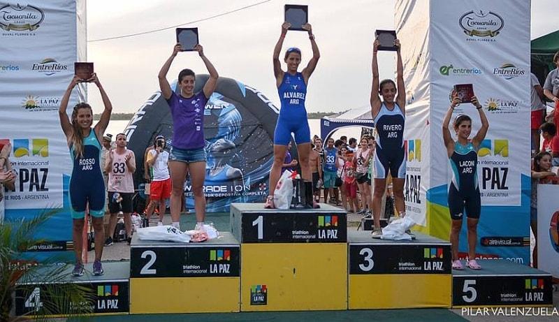 Alessia Orla 2^ al 33° Triathlon Internacional La Paz