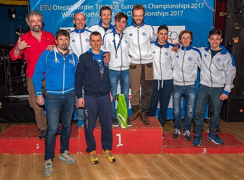 Due medaglie azzurre agli Europei Winter Triathlon 2017