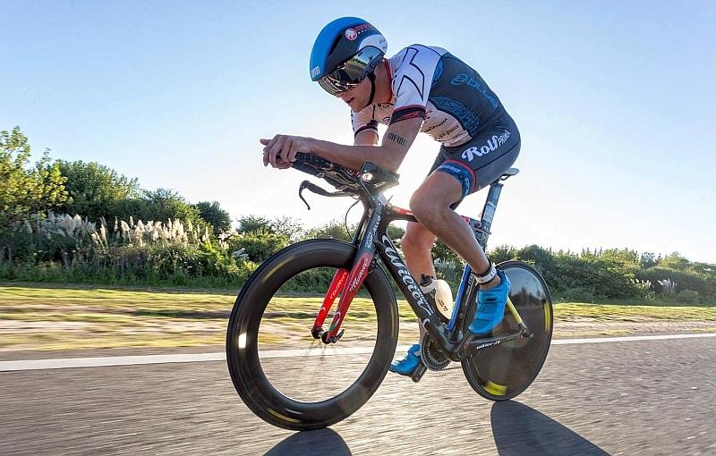 Rodolphe von Berg 2° all'Ironman 70.3 Buenos Aires!