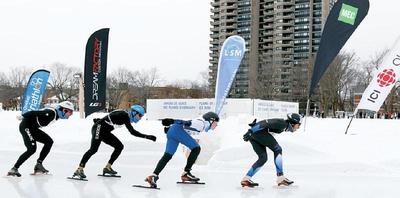 Solo canadesi al Winter Triathlon con ciaspole e pattinaggio