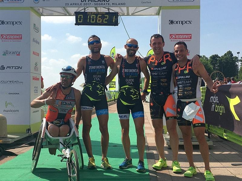 Risultati dei Campionati Italiani di Paratriathlon 2017