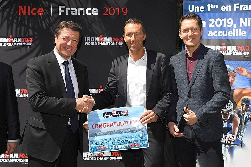 Annunciato Mondiale Ironman 70.3 2019 a Nizza!