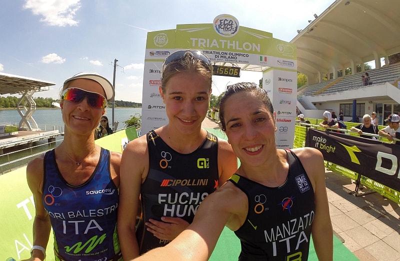 Il Triathlon Olimpico di Milano a Fuchs e Mozzachiodi
