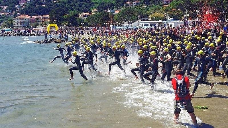 Il 30 aprile lo spettacolo del 26° Triathlon di Andora!