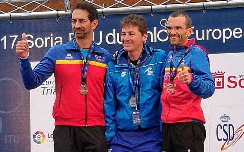 Alessandro Carvani Minetti è d'oro agli Europei Paraduathlon