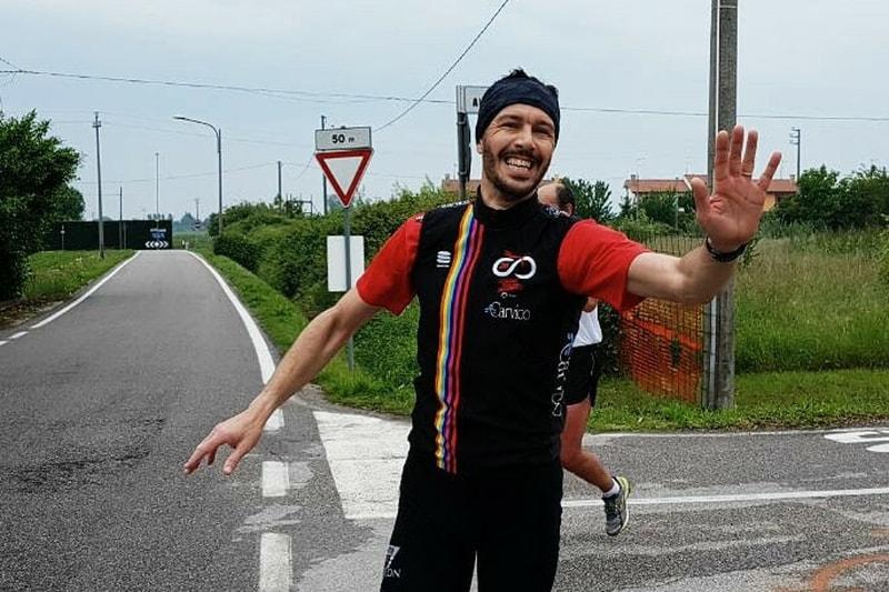 La sfida di Daniele Luppari al Triathlon di Caorle