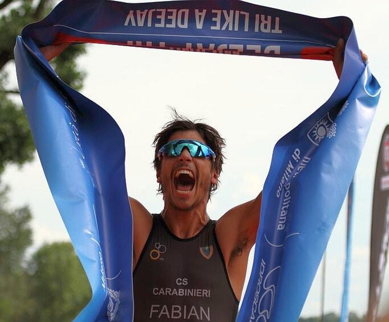 Alessandro Fabian al via dell'Ironman 70.3 Italy a Pescara!