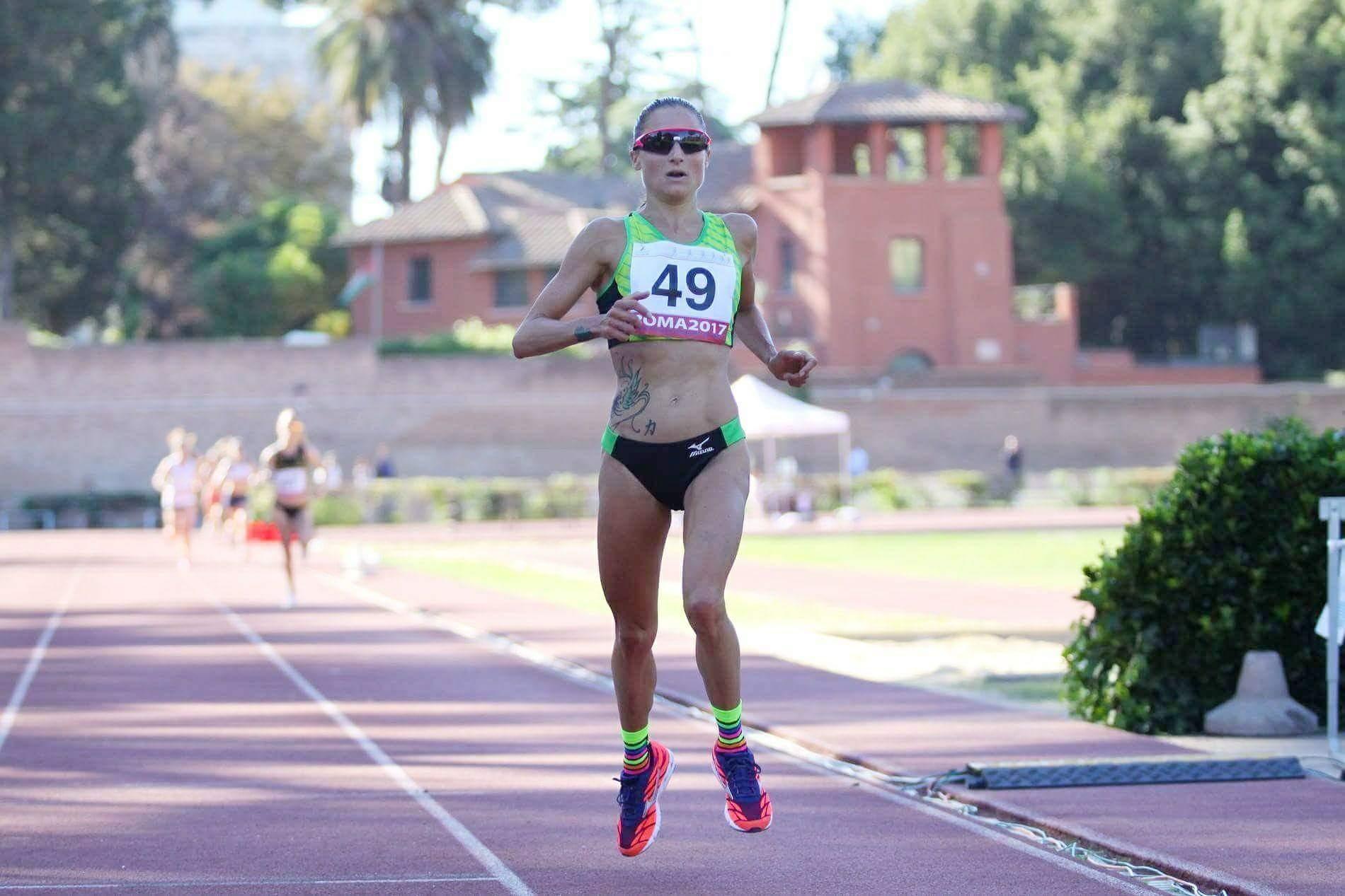 "Sara Dossena campionessa italiana 10.000 metri in 33'11""!"