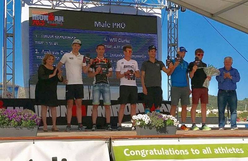I 106 #ITAfinisher dell'Ironman 70.3 Mallorca, 5° Jonathan Ciavattella