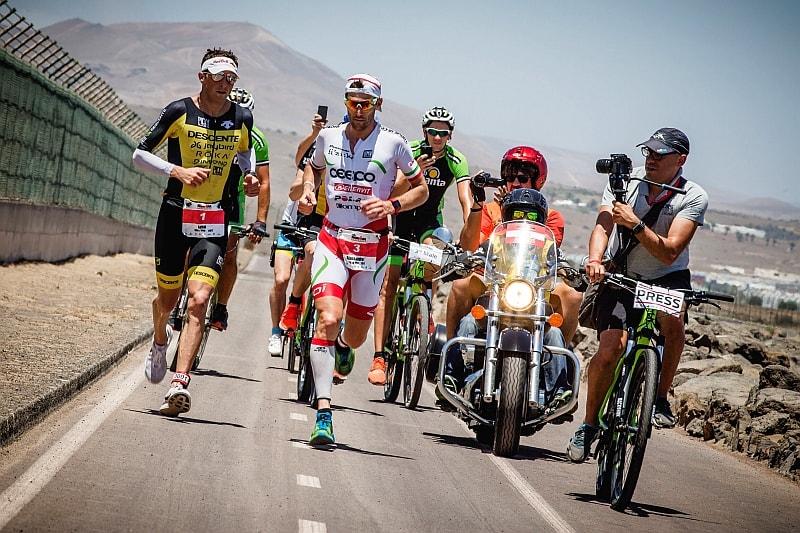 Alessandro Degasperi 2° all'Ironman Lanzarote!