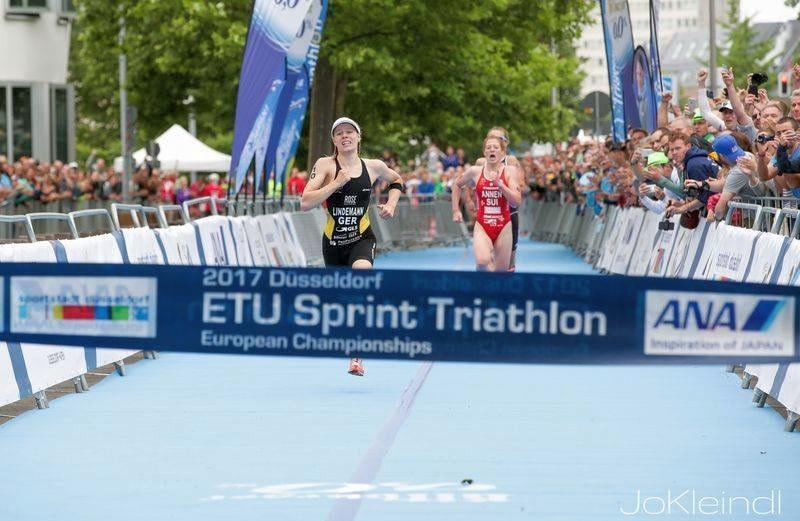 Lindemann e Pereira campioni di triathlon sprint