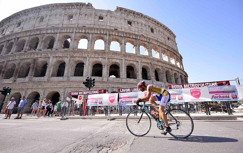 Lo spettacolare percorso bike del Challenge Roma