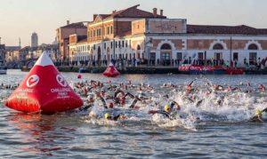 La spettacolare partenza del Challenge Venice 2017 (Foto ©José Louis Hourcade)