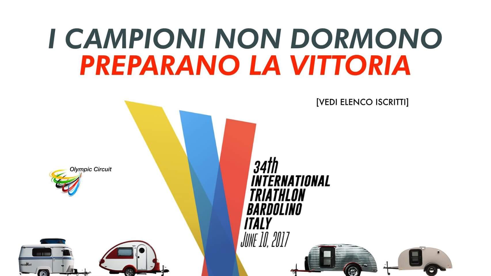 Lista partecipanti 34° Triathlon Internazionale di Bardolino