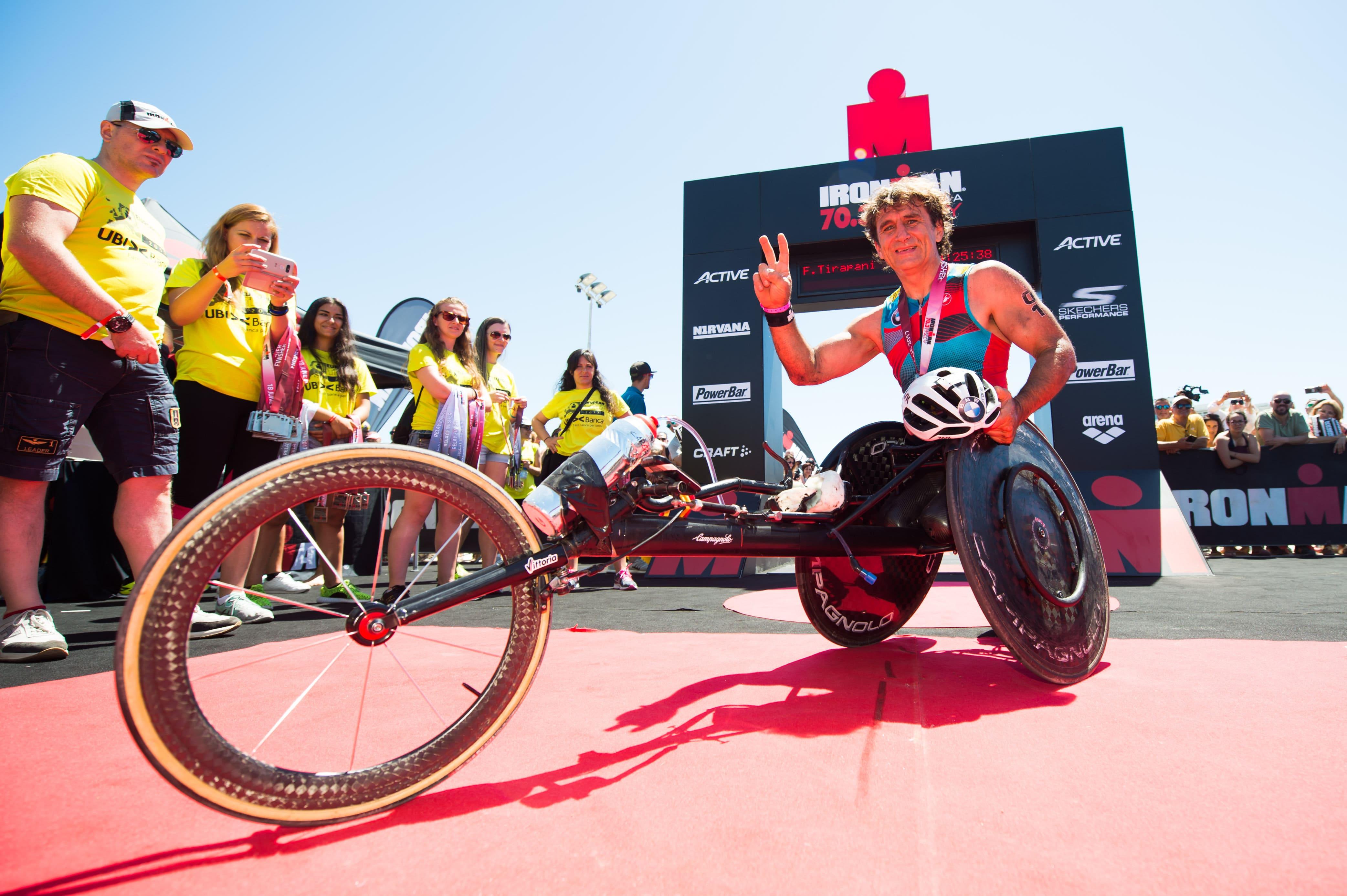Alex Zanardi strepitoso! 8:58:59 all'Ironman Barcelona!