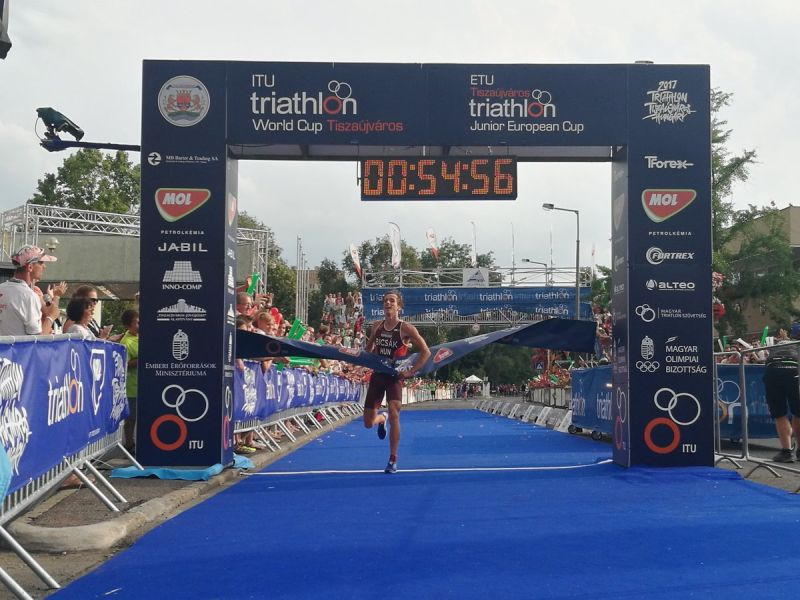 2017 Tiszaujvaros ITU Triathlon World Cup: finale men