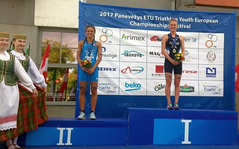 Bea Mallozzi è argento agli Europei di triathlon Youth!
