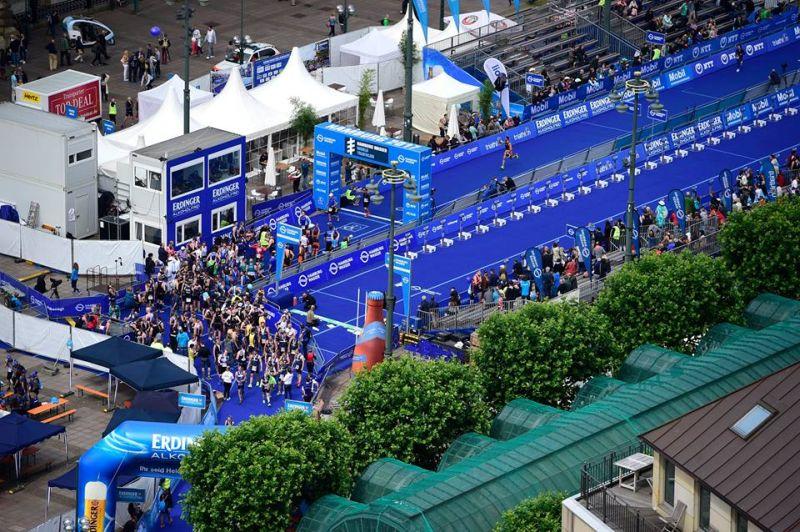 Hamburg ITU Triathlon Mixed Relay World Championships – 3^ lap