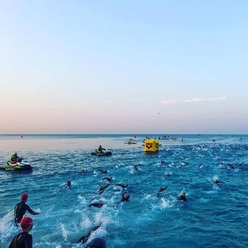 Ironman France: Degasperi sesto dopo i 3.8K di nuoto