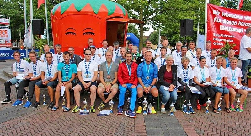 2017-07-28/30 IUTA World Cup Triple Ultra Triathlon Lensahn