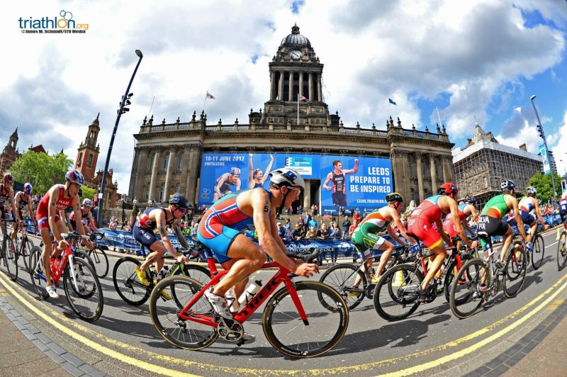 Il video dell'ITU World Triathlon Leeds
