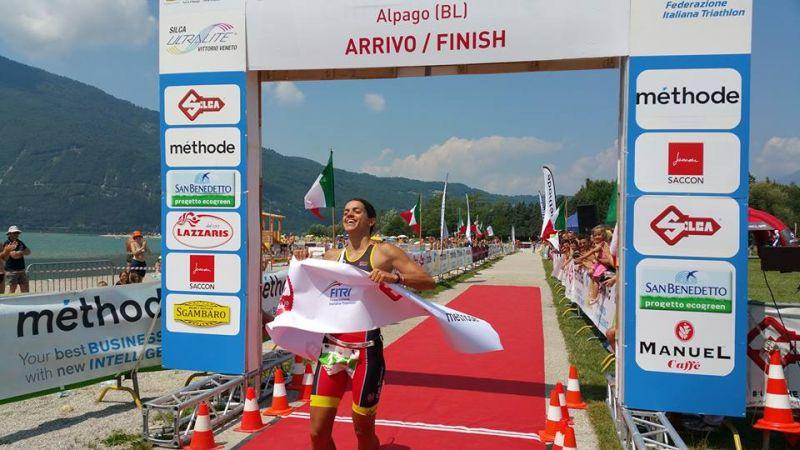 """Italiani Triathlon Cross 2017: la """"prima"""" di Eleonora Peroncini"""