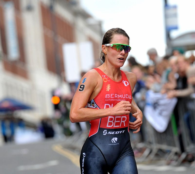 ITU World Triathlon Hamburg: c'è Flora Duffy in testa a 5K dal traguardo