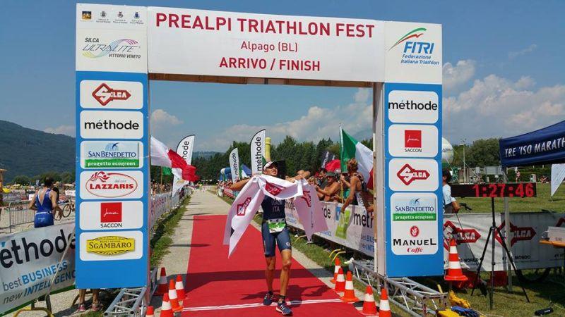 Italiani Triathlon Cross 2017: Marcello Ugazio è (ancora) tricolore!