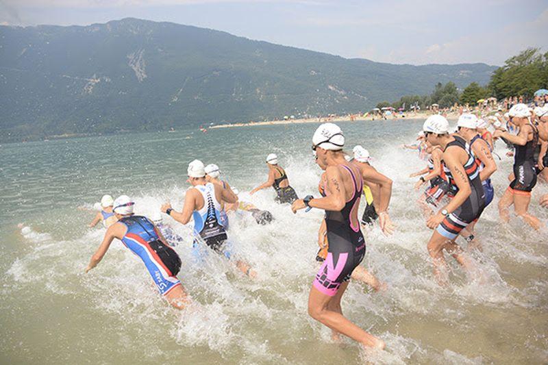 Kurochkin e Marcon primi alla Triathlon Sprint Silca Cup