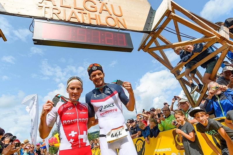 In gran spolvero Jan Frodeno e Daniela Ryf all'Allgäu Triathlon