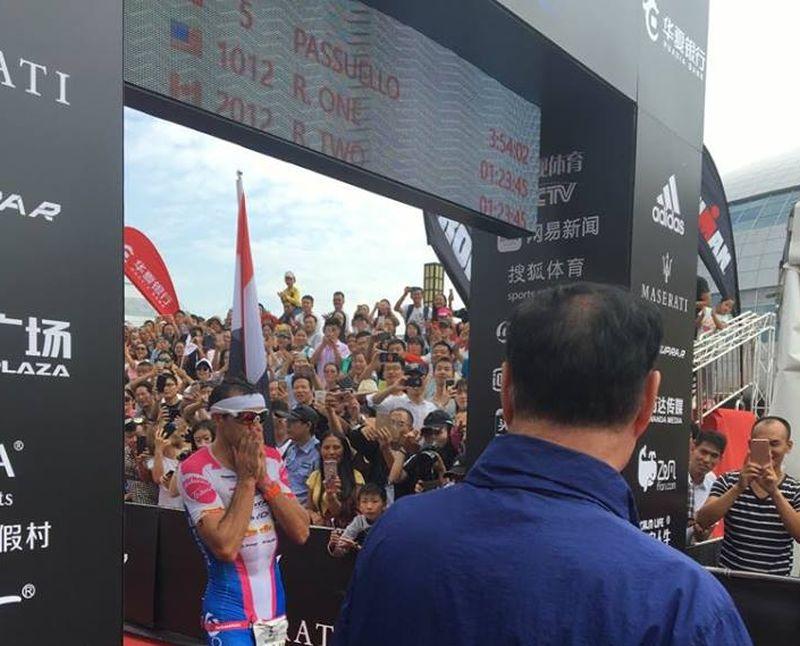 """Domenico Passuello: """"L'Ironman 70.3 Qujing? Un concentrato di emozioni!"""""""