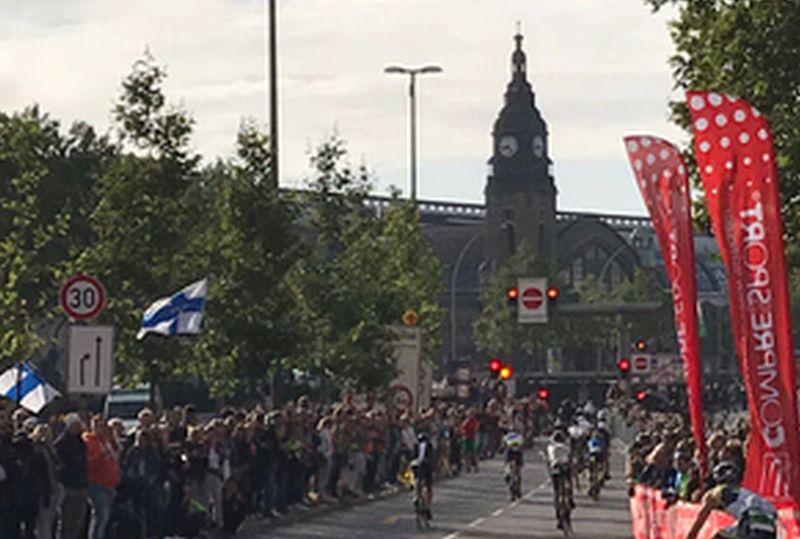 Ironman Hamburg: al 45°K del ciclismo